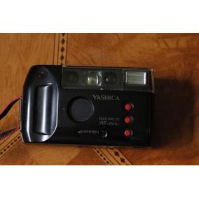 Cámara Yashica Electro 35mm De Rollo Af Mini En Buen Estado