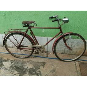 Bicicleta Antiga Mercswiss Aro 28 Pintura Original Déc 50