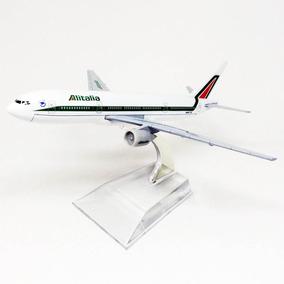 Miniatura Avião Alitalia - Boeing 777 - Hb Toys