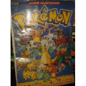 Pokemon Álbum De Figurinhas --frete Grátis