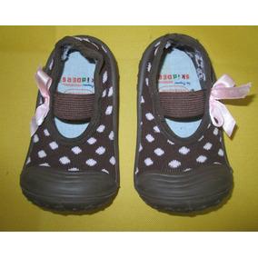 Y Niña Rosa Para Zapatos Marrón Lunares Talla Skidders 824m BY1qwZqTx