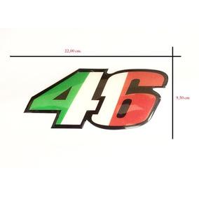 Adesivo Resinado The Doctor Valentino 46 Italy 22,00 X 9,50