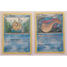 Cartas Pokémon Feebas E Milotic - Xy Flashfire - Português
