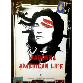Madonna - Poster American Life (oficial Warner)