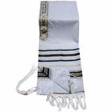 228696784eb Talit Gadol Acrilã 140 Cm X 190 Cm Importado De Israel
