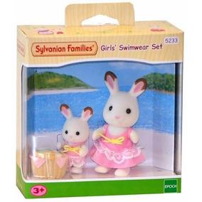 Sylvanian Families Meninas Prontas Para Nadar