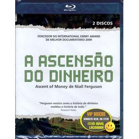 Blu Ray A Ascensão Do Dinheiro Niall Ferguson Duplo Lacrado!