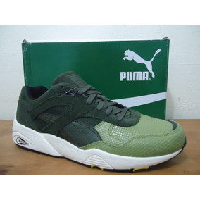 Tênis Puma R698 Trinomic Gridpack Forest Night Original