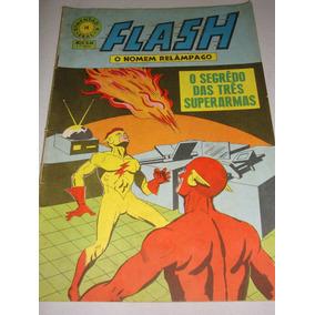 Dimensão K 16 De 1969 Flash O Homem Relâmpago Gibi Ebal Raro