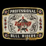 Fivela Pbr Professional Bull Riders Com Detalhes Em Strass 1 fc3bfae0bc1