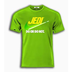 Playeras O Camiseta Estilo Star Wars Jedi Nike 100% Algodon