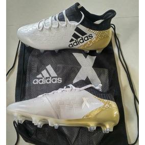 adidas X 16.1 White Metalic - Gold-- Originales - De Bota 106837ed5ad7d