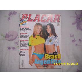 Revista Placar Nº 1165 - Julho De 2000 - Brasil X Argentina