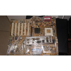 Placa Mãe Asus A7v600-x Soquete 462 (com Defeito)