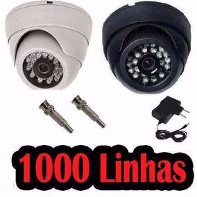 Camera Dome 24 Led Segurança Infra Vermelho 1000 Linhas 3.6m