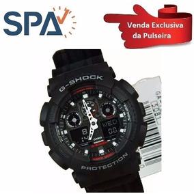 7fc8bfc001c Relógio Casio G Shock Ga100mc 1a Pulseira Tecido Edição Ltda ...