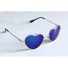 Óculos De Sol Formato De Coração Óculos De Coração Azul Clar ... 17c4c393d5