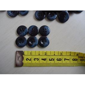 Super Lote De Botões Antigos 980 Gramas Azul Rajado