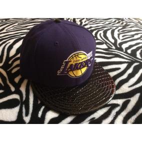 Gorra New Era Los Angeles Lakers 7 1 8 Cerrada 100% Original 4fcfadbe671