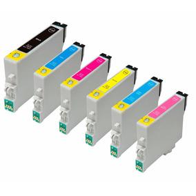 Kit 6 Cartuchos Epson 82n T50 R270 R290 R380 100% Novos