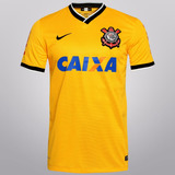 956c60f46f Camisa Corinthians Nike Oficial 2014 Uniforme 3 Frete Grátis