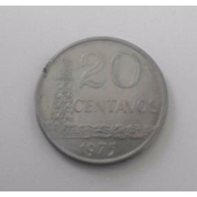 Moeda Antiga 20 Centavos