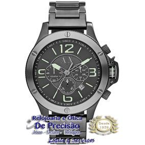 Relógio Cronó. A|x Armani Exchange Ax1507/1pn Eti Danificada