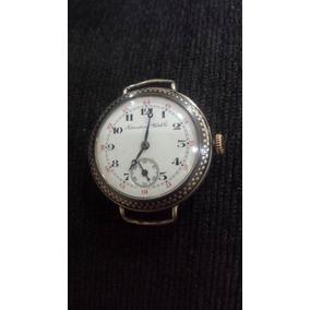 I W C International Watch Co. Trench .925 Prata 1918 33mm