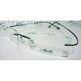 Armação Oculos Grau Silhouette Titanium Sem Aro Flexivel - Óculos no ... 4049d23599