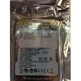 Disco Duro Wd 160gb - 7200 Rpm - Wd1600bekt - Laptop
