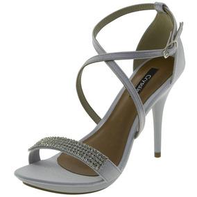ed295f4f96 Sand Lia Feminina Salto Alto Crysalis - Sapatos no Mercado Livre Brasil