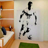 Adesivo Decorativo Cr7 Cristiano Ronald + Njr Neymar + Messi