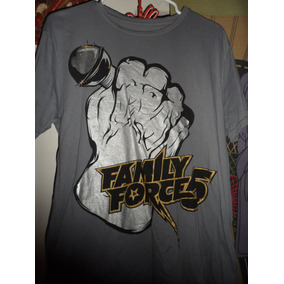 Camisa Playera Family Force 5 Rock Band Musica