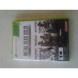 Metal Gears Solid Hd Collection Xbox 360