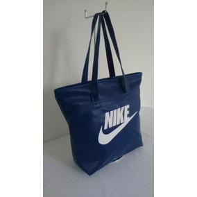 17646a22d Bolsa Nike Azul Couro - Bolsas no Mercado Livre Brasil