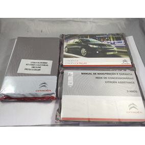 Kit Manual Proprietário Citroen C4 Pallas C4 Hatch Novo