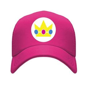 Gorra Peach Mario Bros Princesa