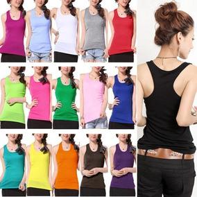 Lote 25 Blusas De Mujer Sport De Colores Moda Japonesa $32pz