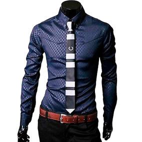 Slim Camisas Caballero 2 Hombre Vestir Fit Camisa n4WnHRqf