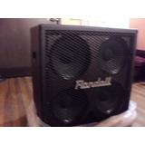 Caja 4x12 Randall Rx Embalada