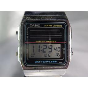a6c1bd1f627 Relógio Casio A L 180 Solar 668 Japão 1986 Relogiodovovô.