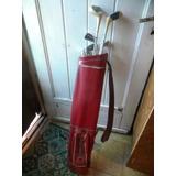 6 Palos De Golf Con Bolsa $ 4500 Usados Mickeywright Wilson