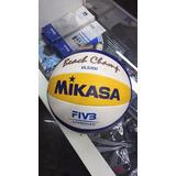 a82734d3e4fa3 Bola De Vôlei De Praia Mikasa Vls 300 Oficial - Bolas de Vôlei no ...