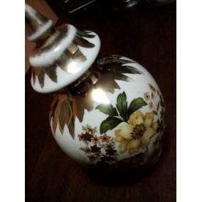 Potiche De Porcelana Antiguo
