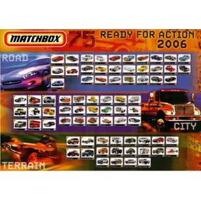 Poster Matchbox 2006 Impecável.