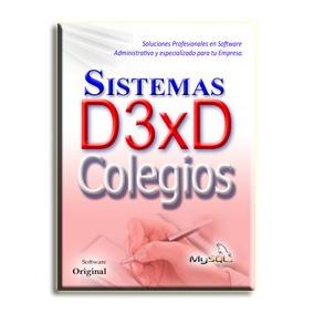 Sistema D3xd Colegios Administrativo