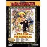 Dvd Mazzaropi No Paraíso Solteironas Lacrado Frete R$ 12,00