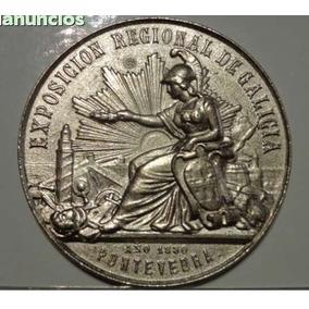 Medalha Exposicion Regional De Galicia Año 1880