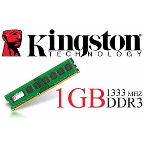 Memória 1gb Ddr3 1333mhz Kingston