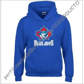 Sudadera Toronto Blue Jays Azul Rey Atju
